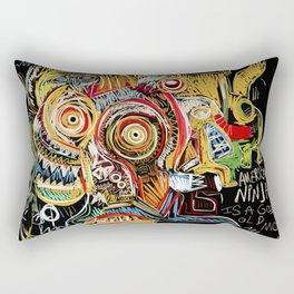 Good Old Movie Street Art Graffiti Rectangular Pillow