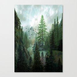Mountain Morning 2 Canvas Print
