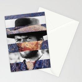 Van Gogh's Self Portrait & Clint Eastwood Stationery Cards