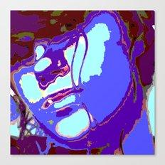 Blue Lagoon Geisha  Canvas Print