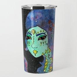 Galaxy Girl Travel Mug