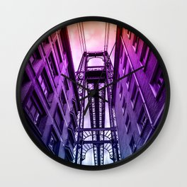 Colorful portugalete Wall Clock