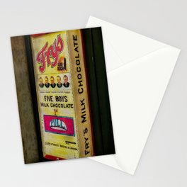 Vintage Chocolate Vending Stationery Cards