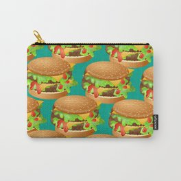 Double Cheeseburgers Carry-All Pouch