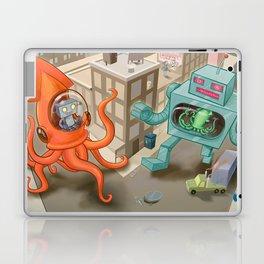Squid vs Robot Laptop & iPad Skin