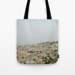 Morning over Nazareth - Fine Art Travel Photography Tote Bag