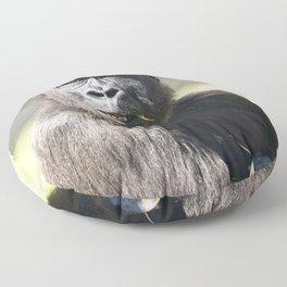 Lope The Cheeky Gorilla Floor Pillow