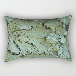 Green moss textures Rectangular Pillow