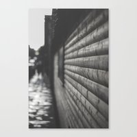 wooden Canvas Prints featuring wooden by Mylo Photography