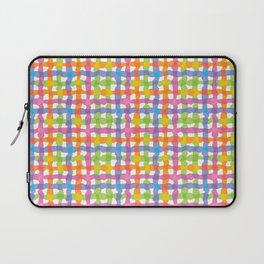 Punchy Plaid Laptop Sleeve