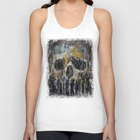 cthulu Tank Tops featuring Cthulhu by Michael Creese