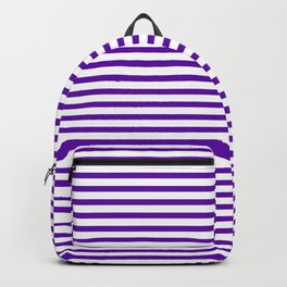 Purple Candy Stripes Backpack