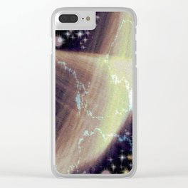 Morality Compass. Clear iPhone Case