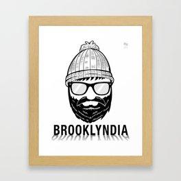 Brooklyndia 2 Framed Art Print