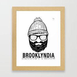 Brooklyndia 2 Framed Art Print