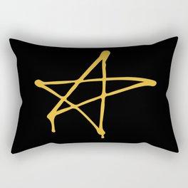 Graffiti Star Rectangular Pillow