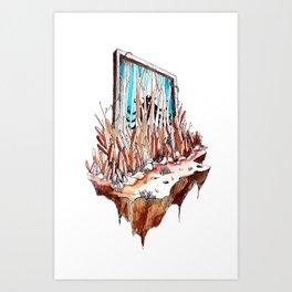 Hidden Gate Art Print