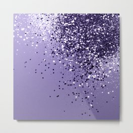 ULTRA VIOLET Glitter Dream #1 #shiny #decor #art #society6 Metal Print