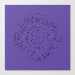 Violet Rainbow Canvas Print