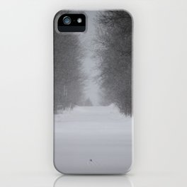 Unknown road iPhone Case