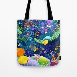 Ocean Tropical Fish Life Tote Bag
