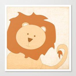 Lion Jungle Series Print Canvas Print