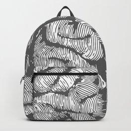 Brain vintage illustration Backpack