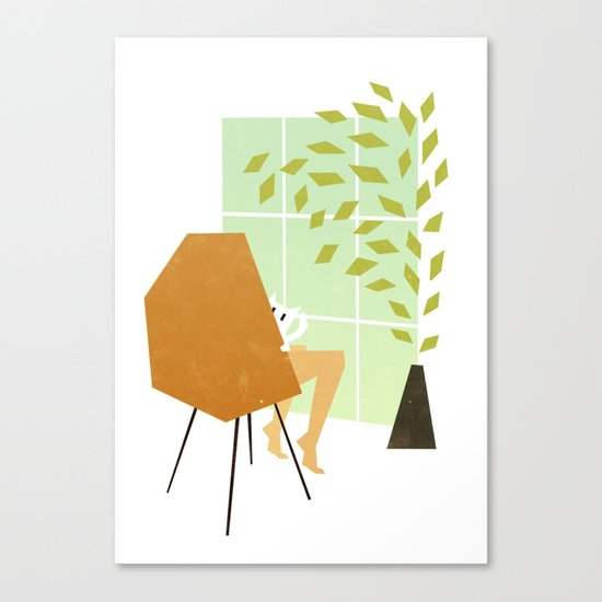 Mrs Claw Canvas Print