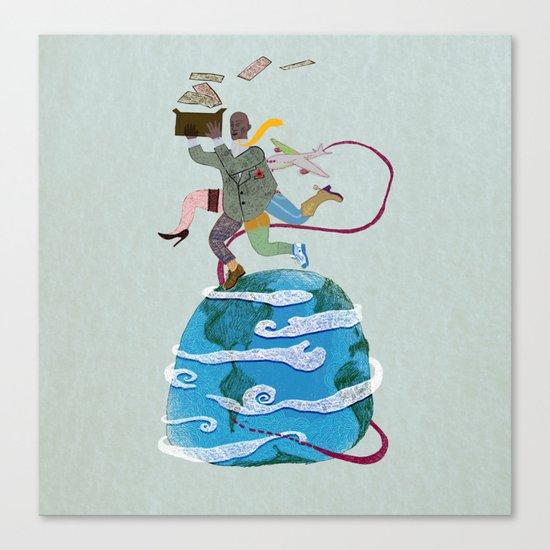 Fuga - Escape Canvas Print