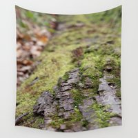 moss Wall Tapestries featuring Moss by Tayler Smith
