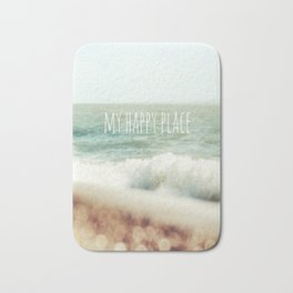 Beach - My Happy Place Bath Mat