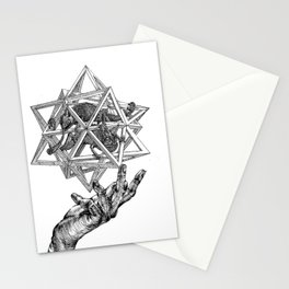 The intersection of worlds Stationery Cards