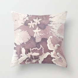 Floral Paisley Throw Pillow