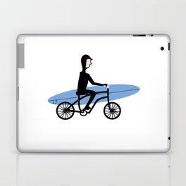 Winter surfer Laptop & iPad Skin