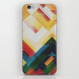 Mountain of energy iPhone Skin