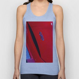 Chery QQ Electric Front Red Unisex Tank Top