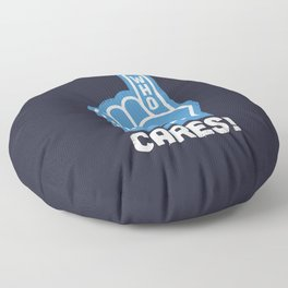 A Pointed Critique Floor Pillow