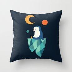 Private Corner Throw Pillow