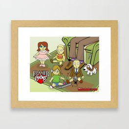 Frasier Babies Framed Art Print