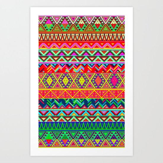 Bohemian Style Art Print
