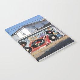 Wonderland Records Notebook