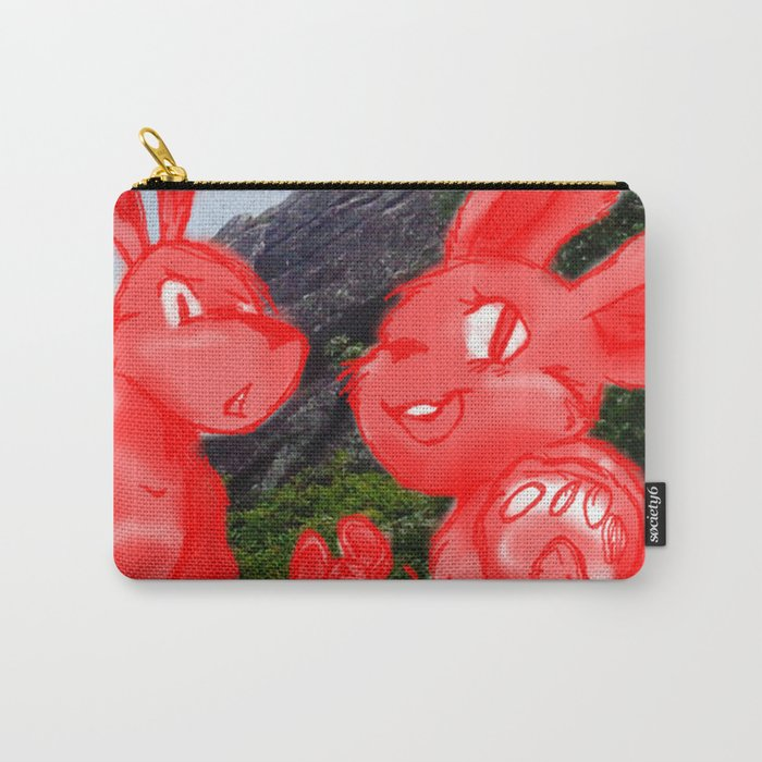 Smile for the Camera Carry-All Pouch