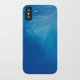 Looking Up at the Ocean iPhone Case