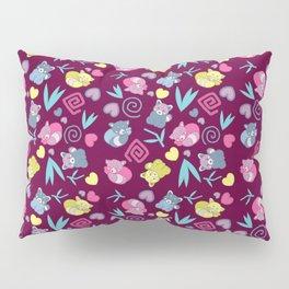 Cute Red Pandas Pattern Pillow Sham