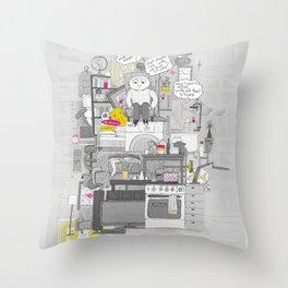 Crap Stuff Throw Pillow
