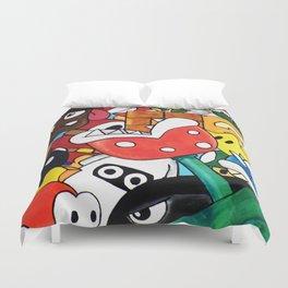 Super Mario Bros Duvet Cover
