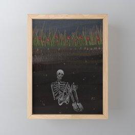 my derelict garden  Framed Mini Art Print