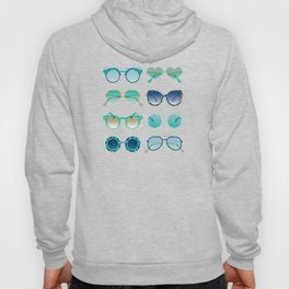 Sunglasses Collection – Turquoise & Navy Palette Hoody