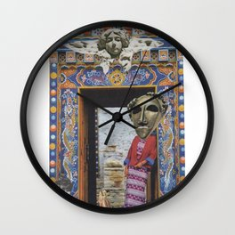 Another light, other colors -- Otra luz, otros colores Wall Clock