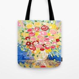 Blooming Burst Tote Bag